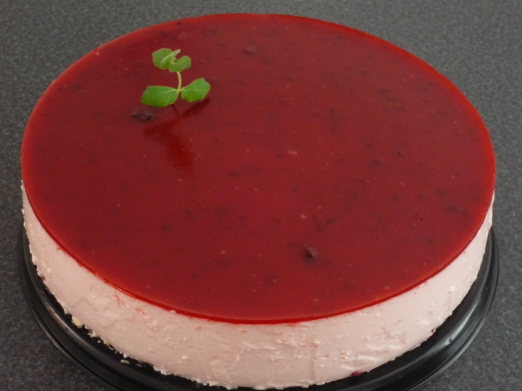 Torta de Yogurth Frutilla