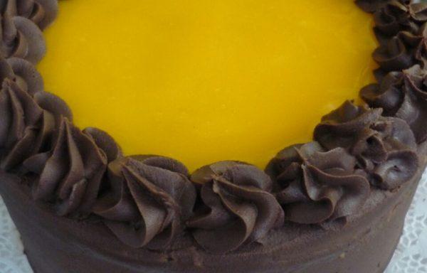 Torta Panqueque Naranja Chocolate