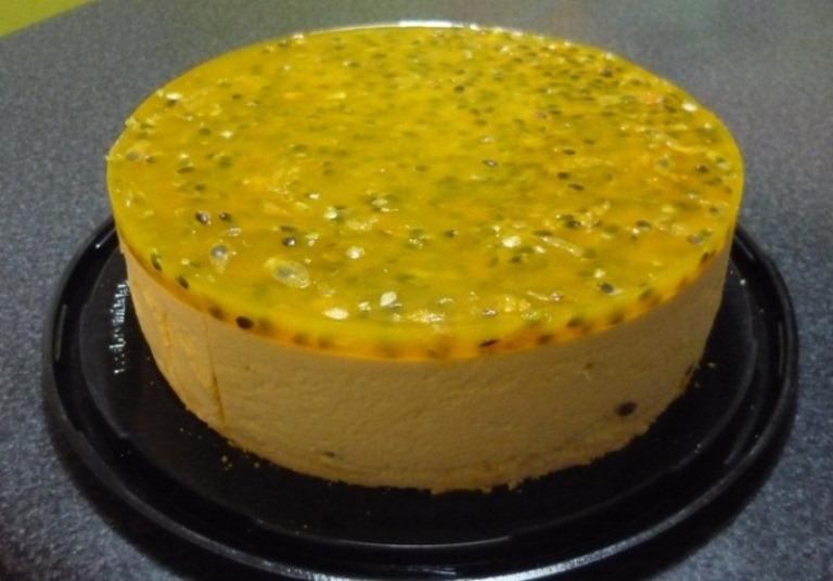 Torta de Yogurth Maracuyá